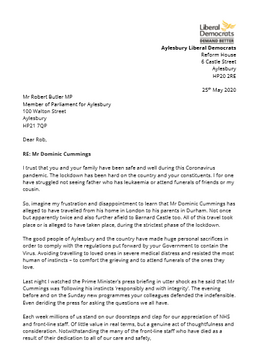 Letter to Rob Butler MP_p1